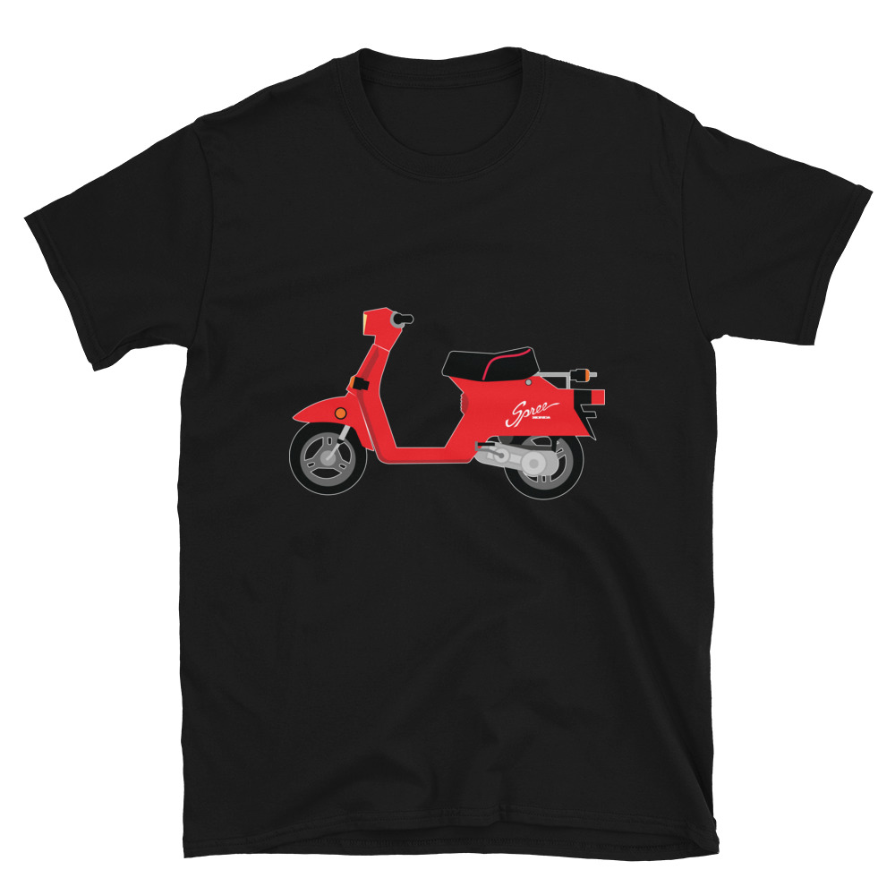 Honda Spree Scooter T-Shirt